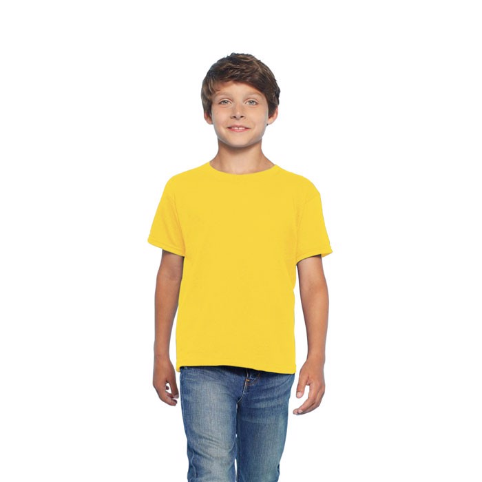 Kids t-shirt 150 g/m² Kids Ring Spun T-Shirt 64000B - Daisy Yellow / S
