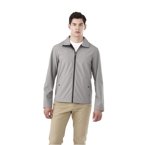 Karmine men's softshell jacket - Steel Grey / M
