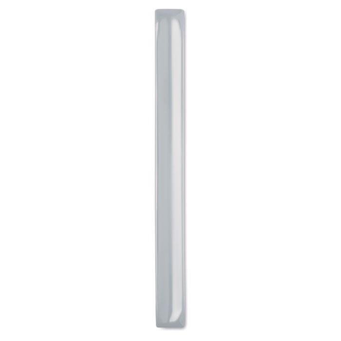 Odblaskowa opaska na ramię Enrollo + - srebrny