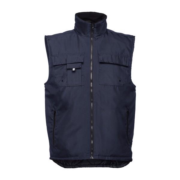 THC STOCKHOLM. Pracovní vesta s vycpávkou - Námořnická Modrá / XXL