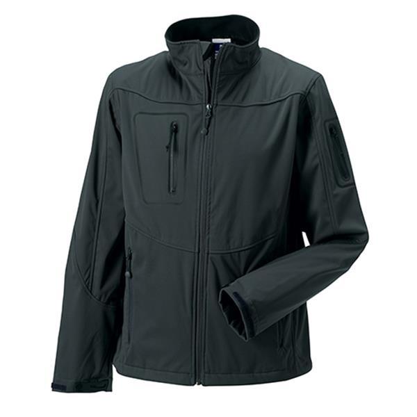 Casaco Sportshell 5000 Men 250G - 100% Poliéster - Cinza Escuro / XS