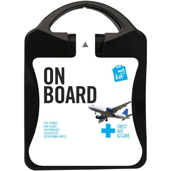 MyKit On Board Travel Set - Solid Black