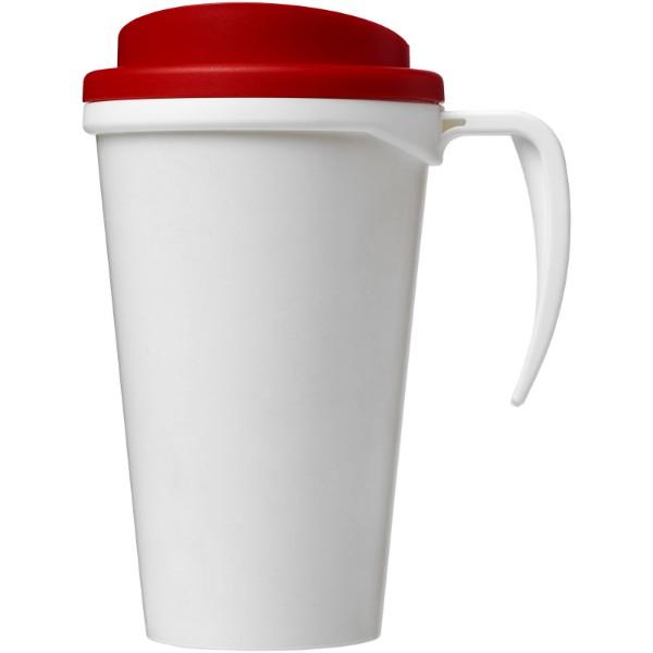 Termo hrnek Brite-Americano® grande 350 ml - Bílá / Červená s efektem námrazy