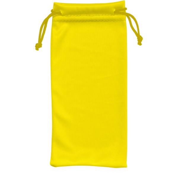 Clean sáček z mikrovláken na sluneční brýle - Žlutá