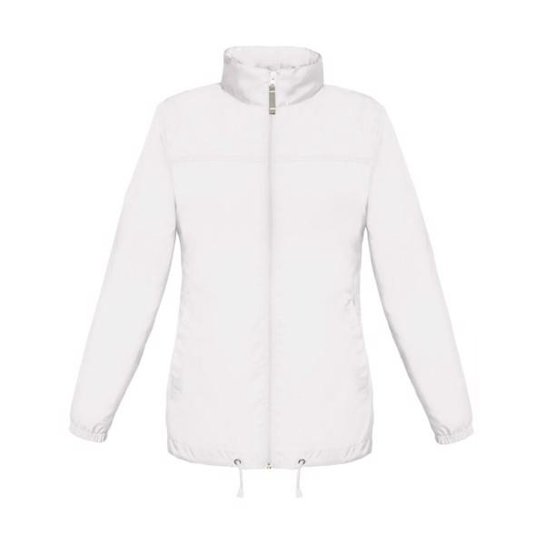 Damă Geacă vânt 70 g/m2 Sirocco Women Jw902 - white / XXL