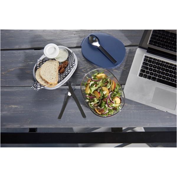 Ellipse salad box - Navy