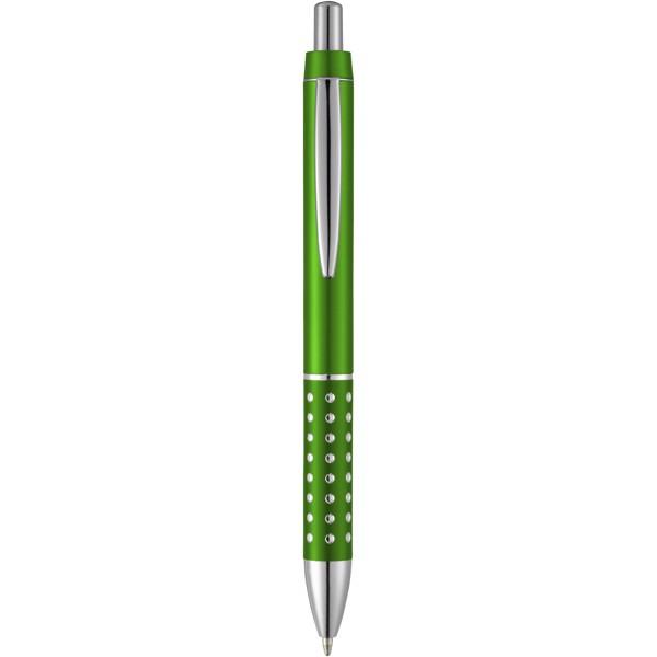Bling Kugelschreiber mit Aluminiumgriff - Grün