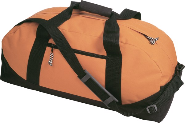 Polyester (600D) sports bag - Orange
