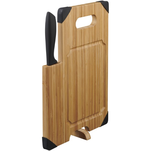 Rezalna deska iz bambusa z nožem Avery