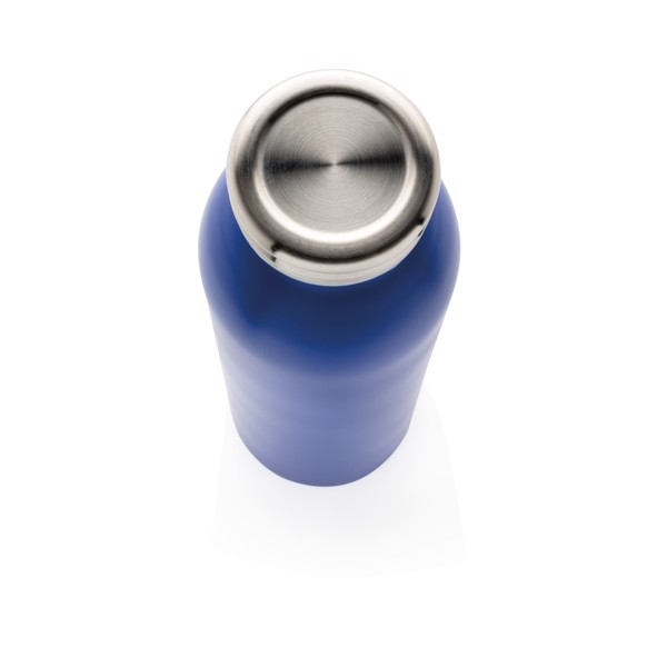 Szivárgásmentes, réz- és vákuumszigetelt palack - Kék