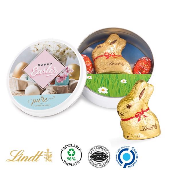 Easter Tin Lindt - White