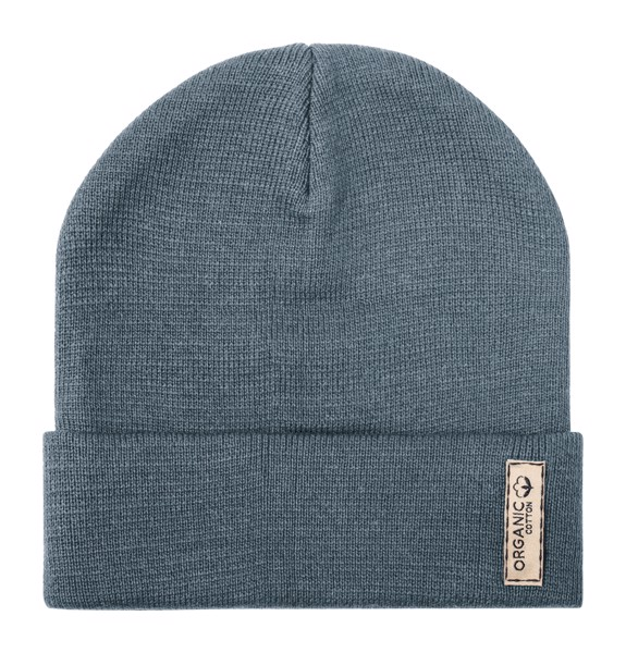 Organic Cotton Winter Cap Daison - Grey