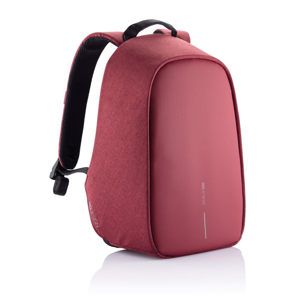 Bobby Hero Small, mochila antirrobo - Rojo Cereza