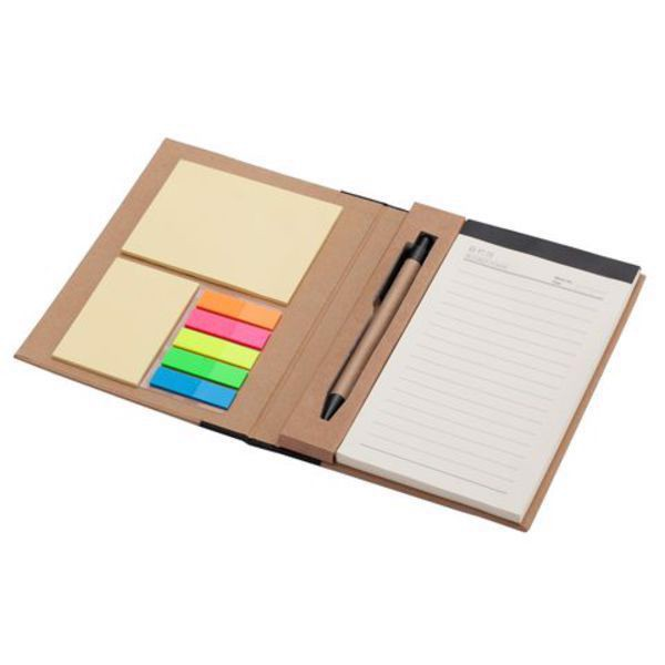 Kraft Paper notepad with memo set