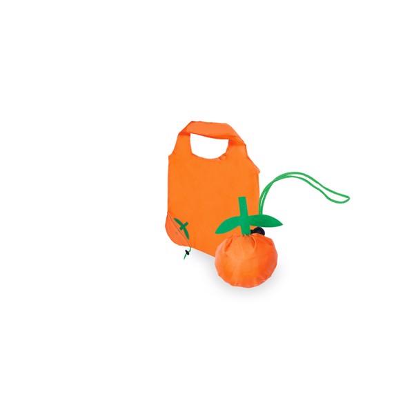 Foldable Bag Corni - Orange