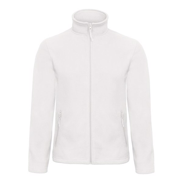 Men's Polar Fleece 280 g/m2 Micro Fleece Zip Id.501 Fui50 - White / XL