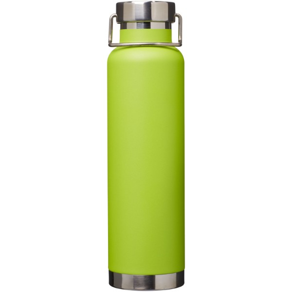 Thor 650 ml copper vacuum insulated sport bottle - Lime