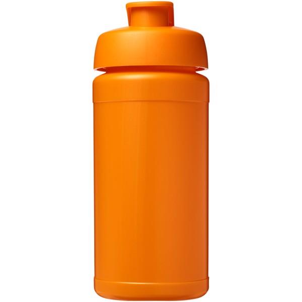 Baseline® Plus 500 ml Sportflasche mit Klappdeckel - Orange