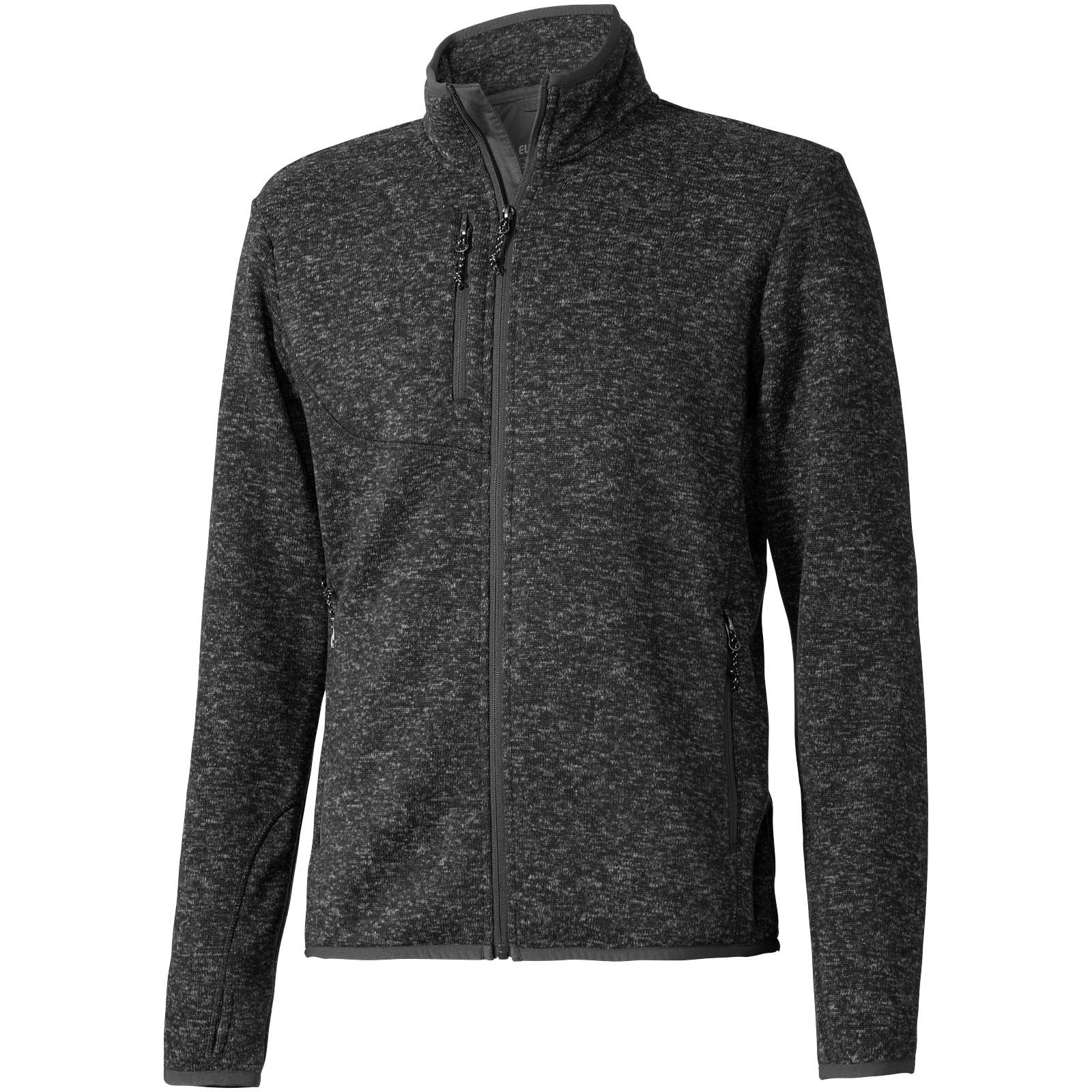 Tremblant knit jacket - Heather Smoke / M