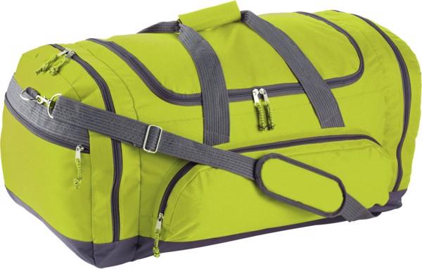 Polyester (600D) sports bag - Black