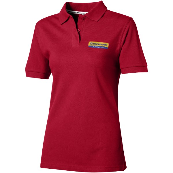 Forehand short sleeve ladies polo - Dark red / S