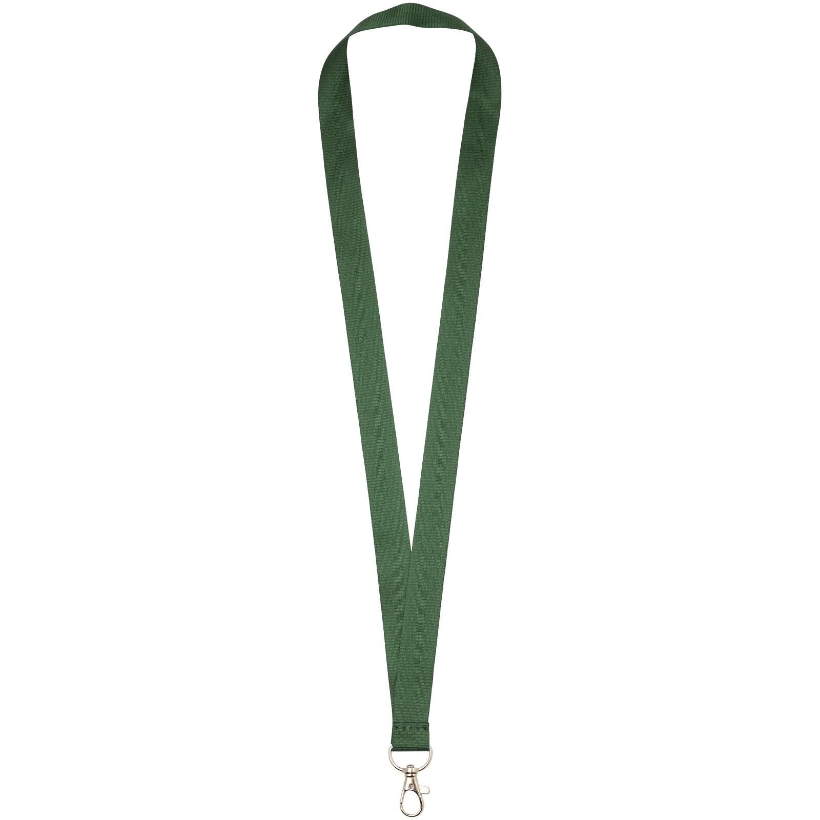 Lanyard Impey s praktickým háčkem - Zelená
