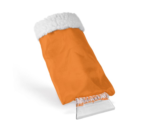 SOLDEU. Ice scraper - Orange