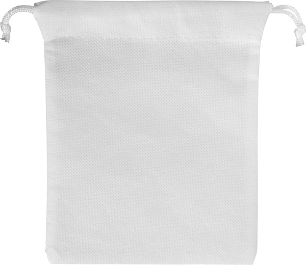 Nonwoven (80 gr/m²) drawstring pouch