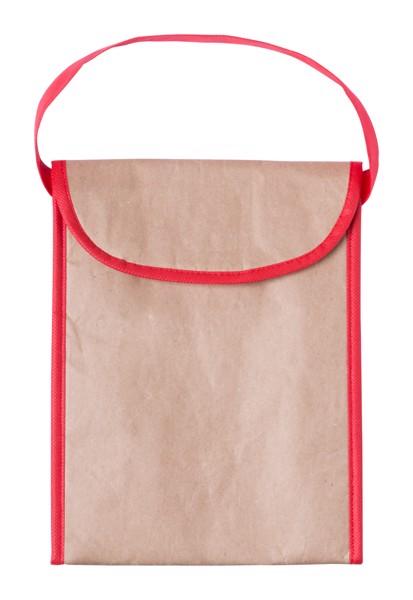 Cooler Bag Rumbix - Red / Natural