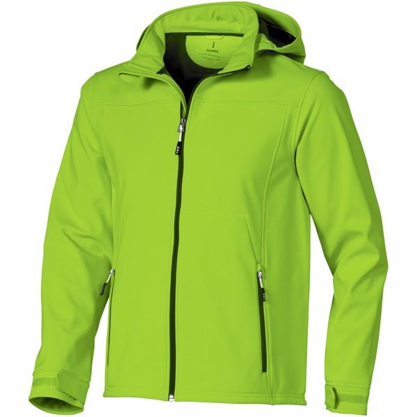 Softshellová bunda Langley - Zelené jablko / L
