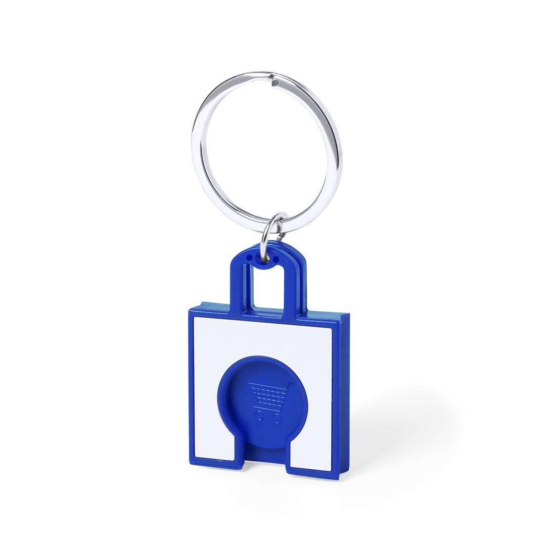 Llavero Moneda Fliant - Azul