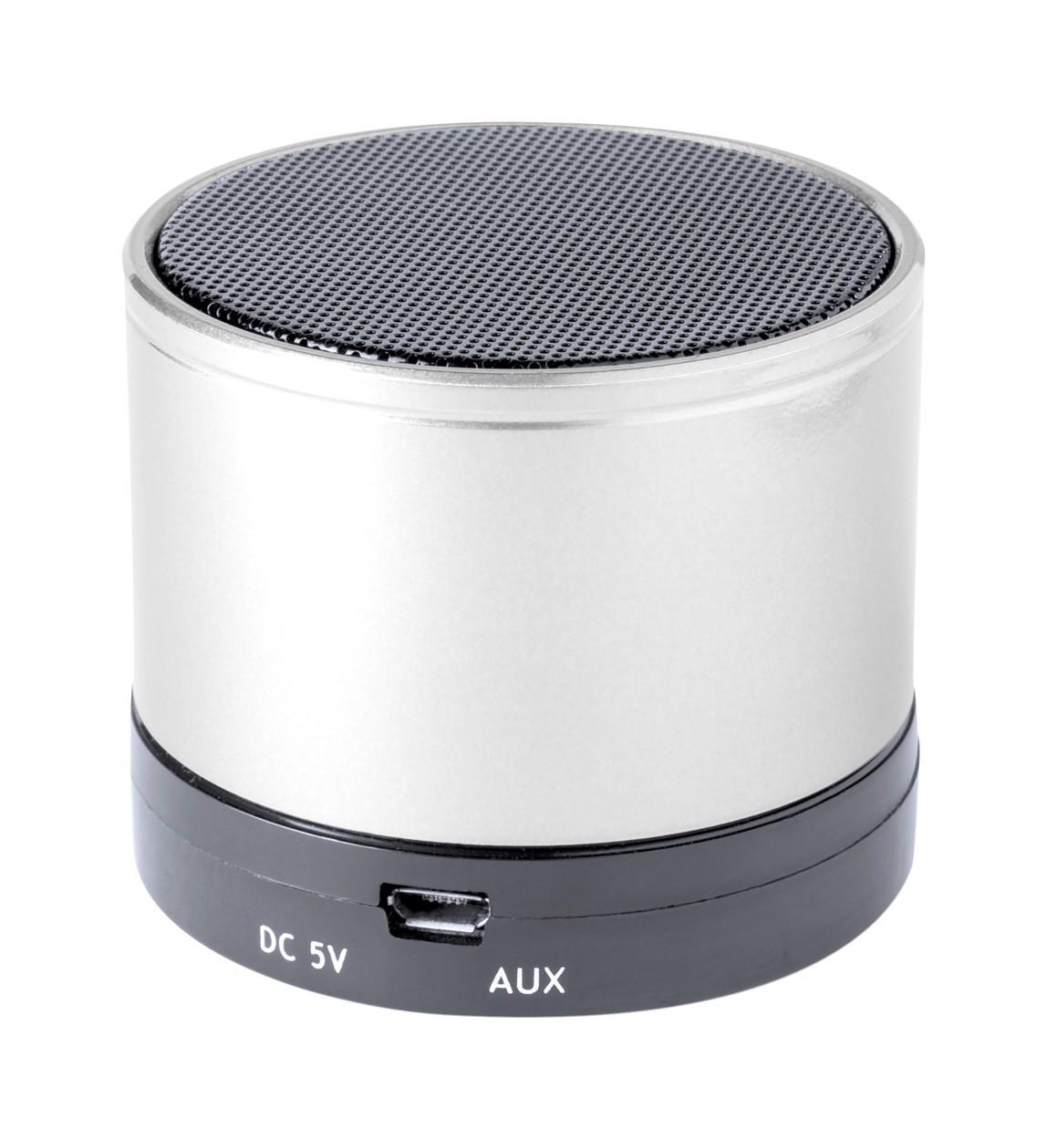 Bluetooth Reproduktor Martins - Stříbrná / Černá