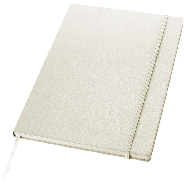 Executive A4 hard cover notebook - White