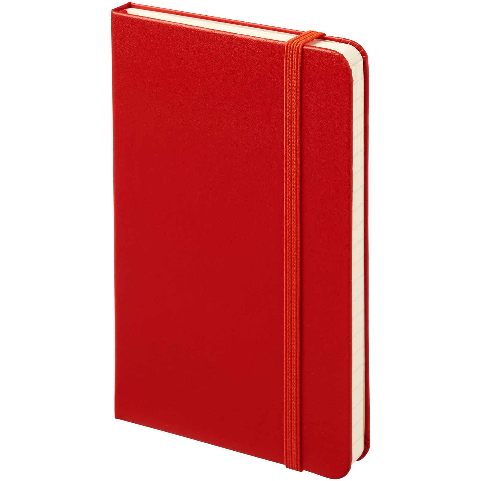 Classic PK hard cover notebook - ruled - Scarlet red