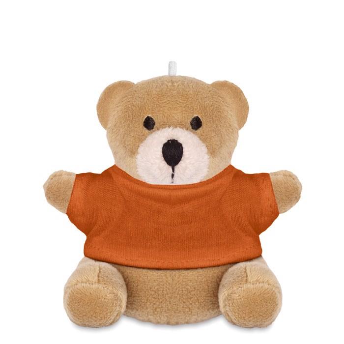 Teddy bear Nil - Orange