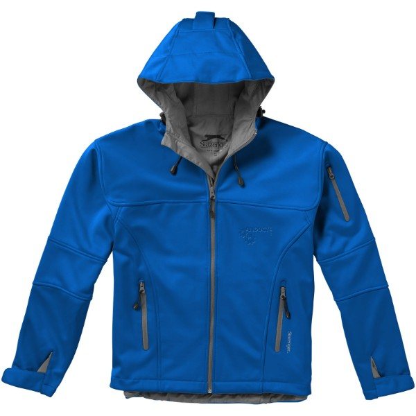 Softshellová bunda Match - Nebeská modrá / XL