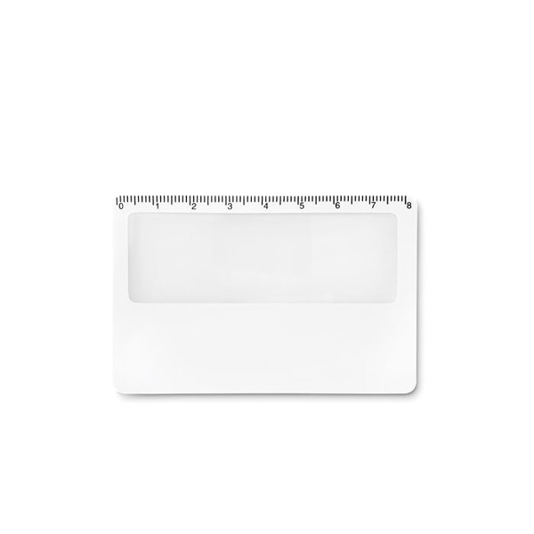 Credit card magnifier Lupa - White