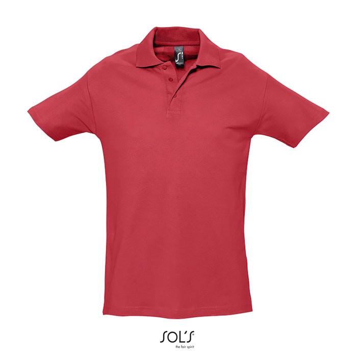 SPRING II POLO HOMBRE 210g - Rojo / XL