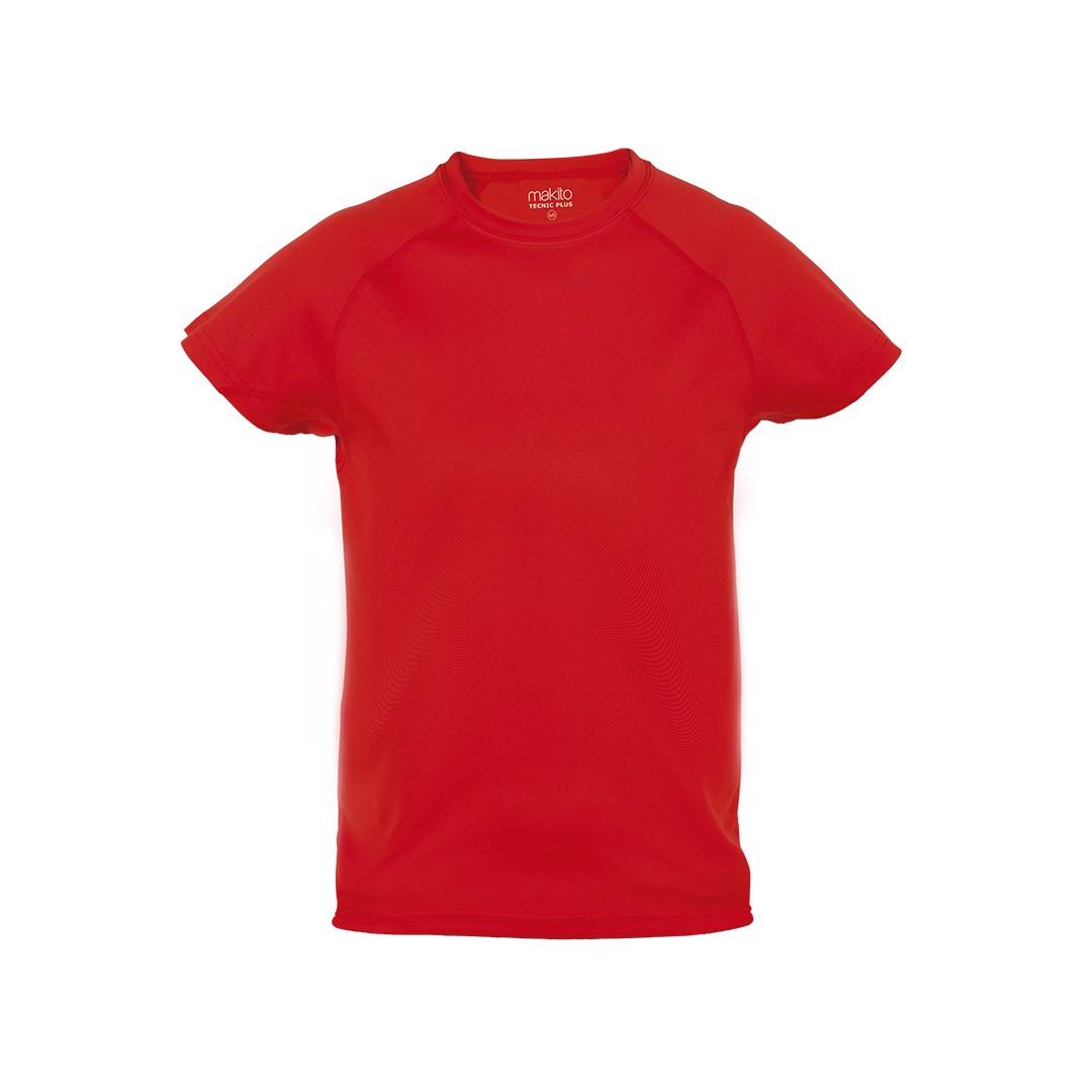Camiseta Niño Tecnic Plus - Rojo / 6-8