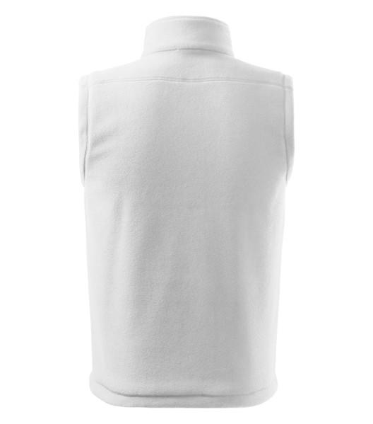 Fleece Vest unisex Rimeck Next - White / XS