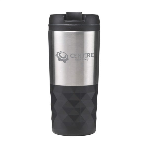 Graphic Grip Mug thermo cup - Black