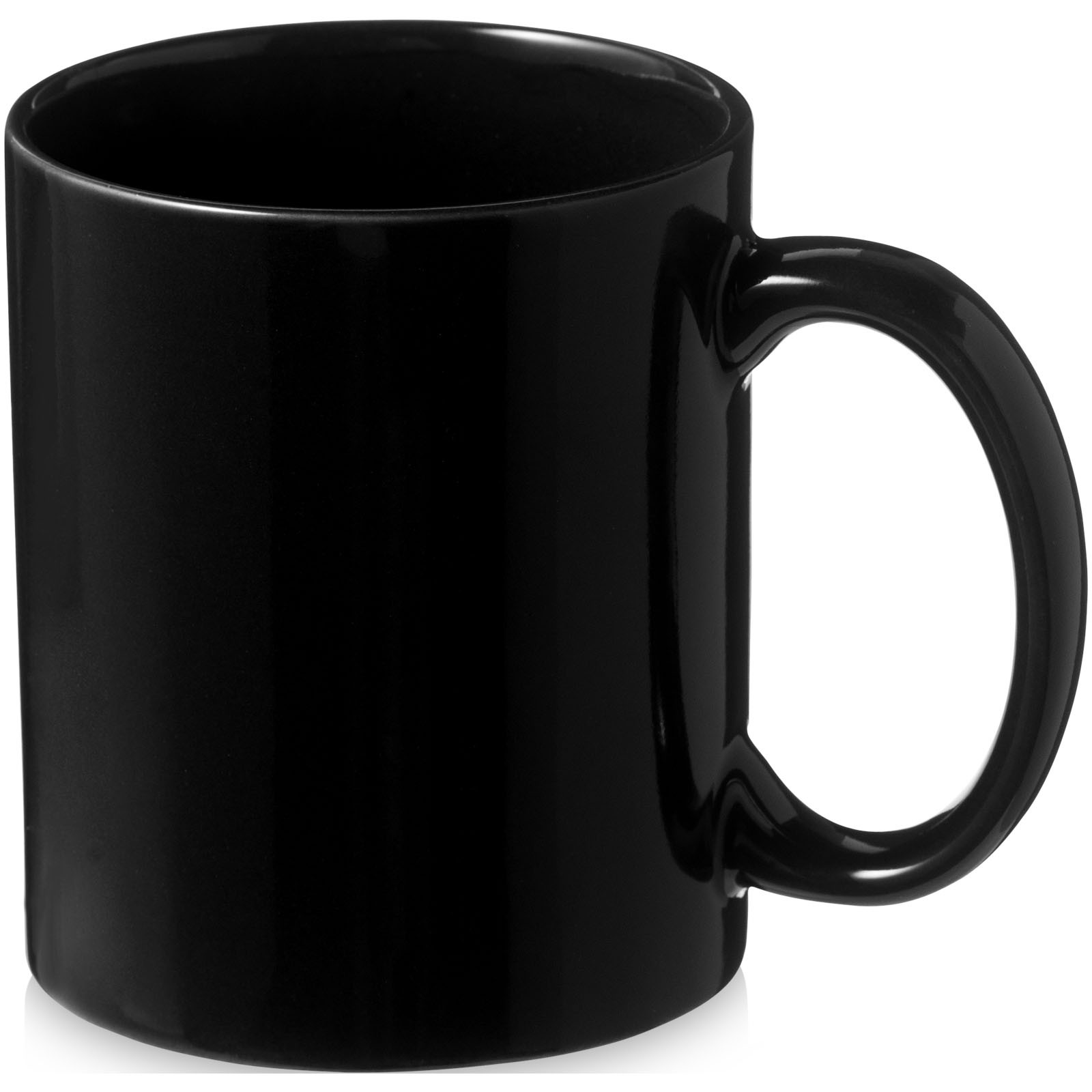 Kubek ceramiczny Santos - Czarny