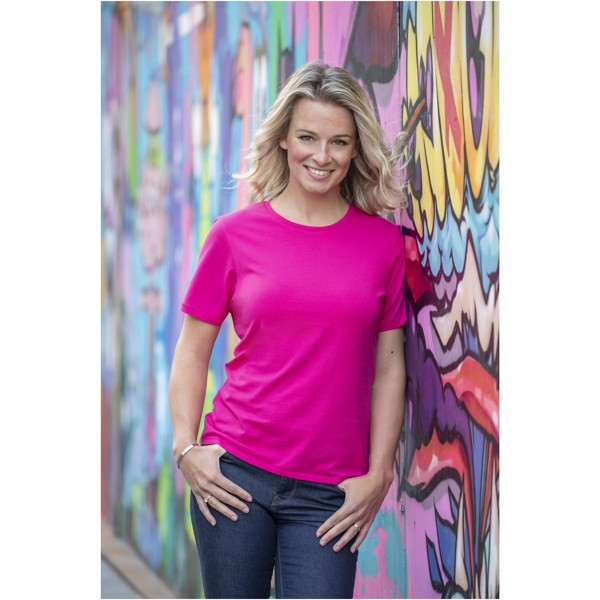 Balfour short sleeve women's GOTS organic t-shirt - Solid black / M