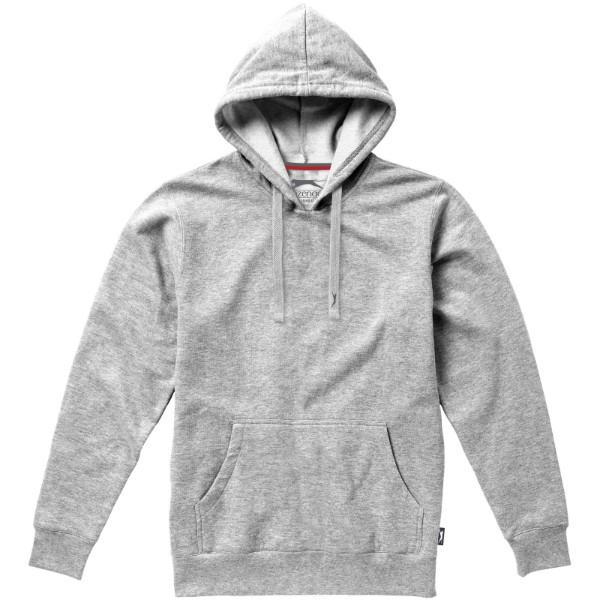 Alley hooded sweater - Grey melange / S