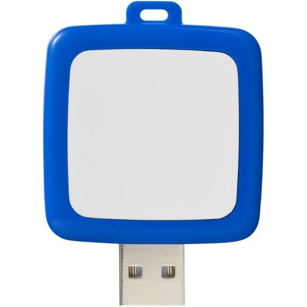 Rotating square USB - Blue / 4GB