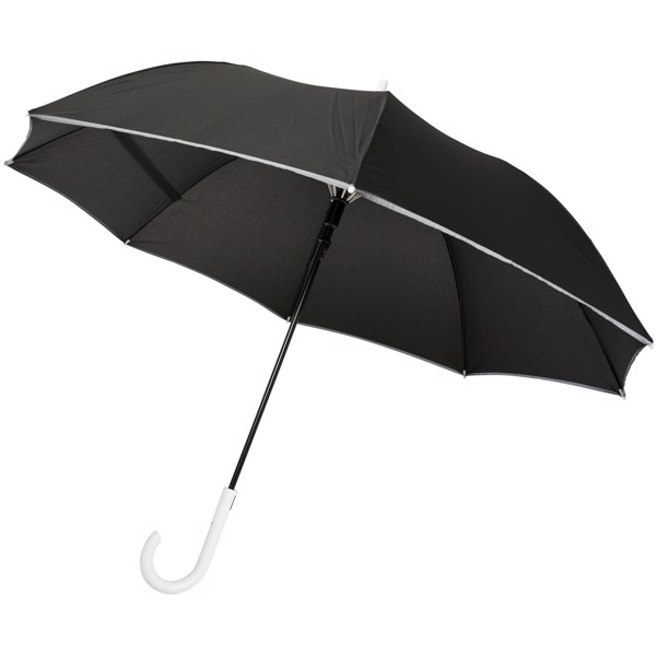 "Felice 23"" auto open windproof reflective umbrella - White"