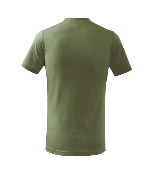 Tričko dětské Malfini Basic - Khaki / 110 cm/4 roky
