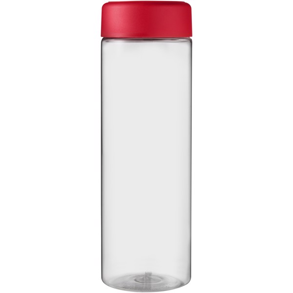 H2O Vibe 850 ml screw cap water bottle - Transparent / Red