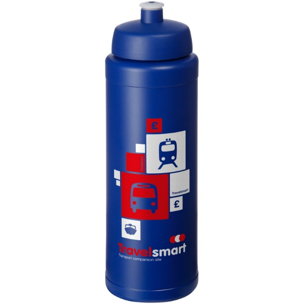 Baseline® Plus grip 750 ml sports lid sport bottle - Blue