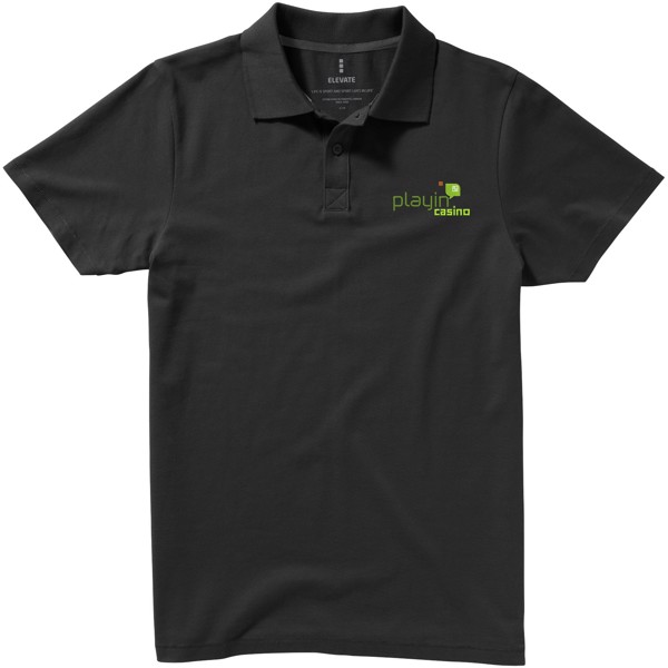 Seller short sleeve men's polo - Anthracite / L